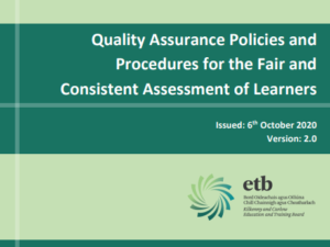 Assessment Policy Forms Updates